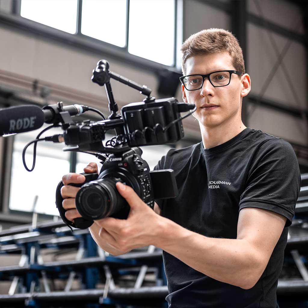 Videoproduktion Kameramann